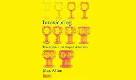 Intoxicating by Max Allen book cover