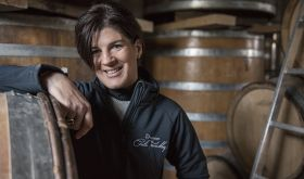 Cecile Tremblay in her Morey-St-Morey cellar