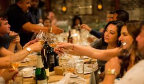 Mexican American Vintners Association winemaker dinner 2018