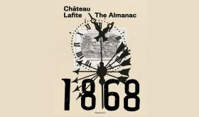 Ch Lafite 1868 The Alamanac by Saskia de Rothschild book cover