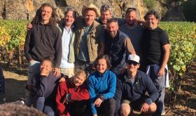 Mark Haisma's 2019 picking team in Cote de Nuits Village