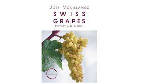 Swiss Grapes by Jose Vouillamoz book cover