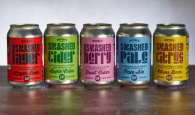 Smashed cans - alcohol-free beers and ciders