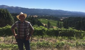 Stuart Bewley of Alder Springs in Mendocino, California
