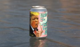 Trump on a can