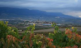 Briones in Rioja from Allende vineyard