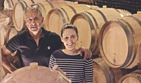 Pascal and Pauline Charles of Domaine Charles Père et Fille