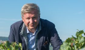 Jean-Baptiste Lécaillon of Louis Roederer in the vines
